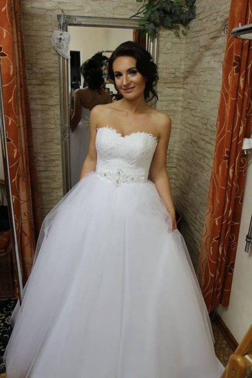 f3ea503494 Niepowtarzalna Suknia ślubna Księżniczka Używane Suknie