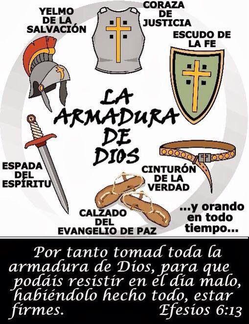 Armadura De Dios | Frases Biblicas | Pinterest | armadura de Dios ...