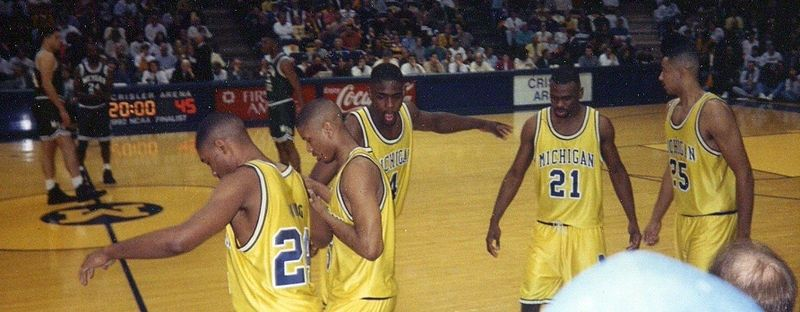 The Fab Five, changed college ball