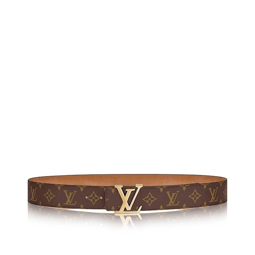 6478d30416a3 Monogram Canvas ACCESSORIES BELTS LV Initiales 40MM