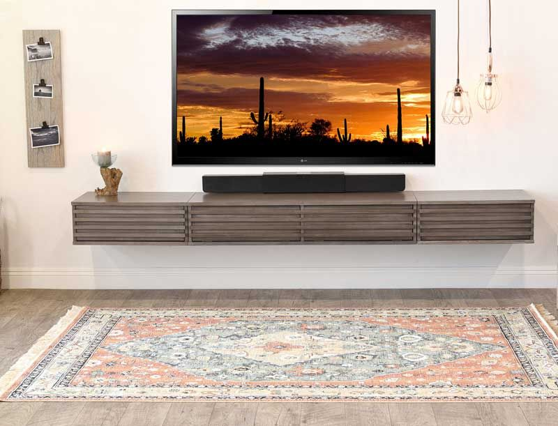 Modern Floating Tv Units Vurni Floating Tv Unit Wall Mounted