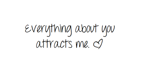 Everything about you attracts me #Love #Smile #LoveMessage #picturequotes  #quotes #relationship #lover | Quotes, Everything about you, Love quotes