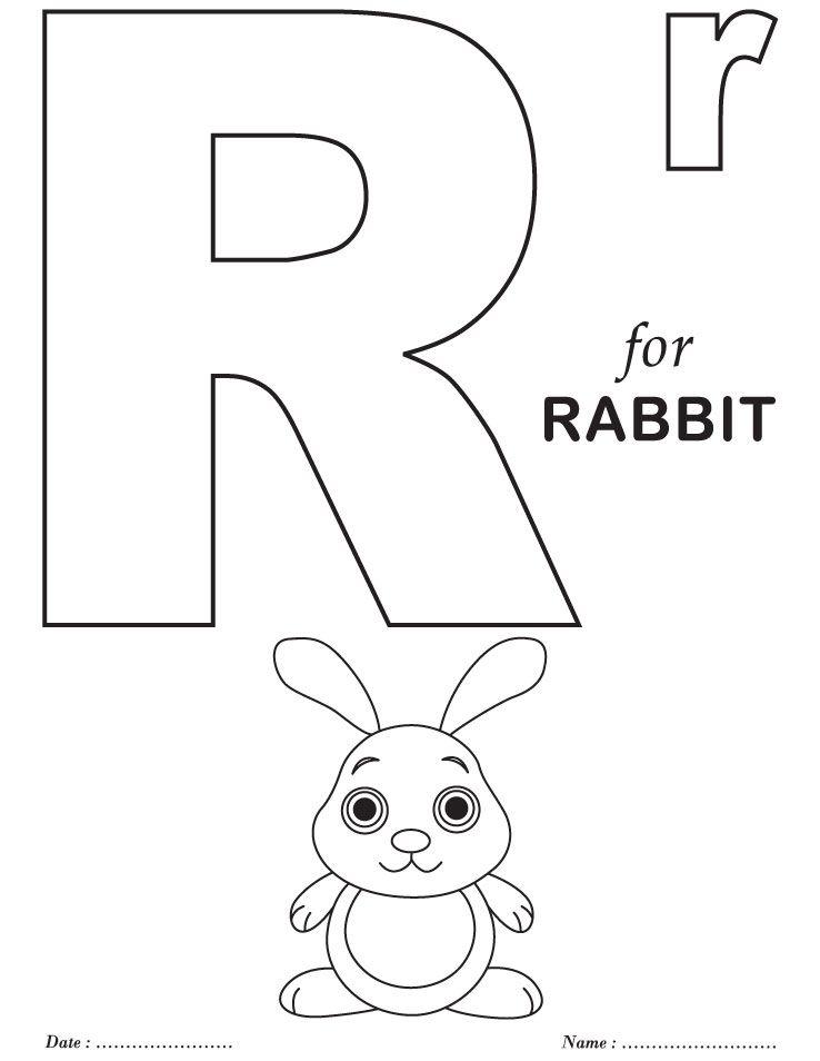 printables alphabet r coloring sheets  alphabet coloring