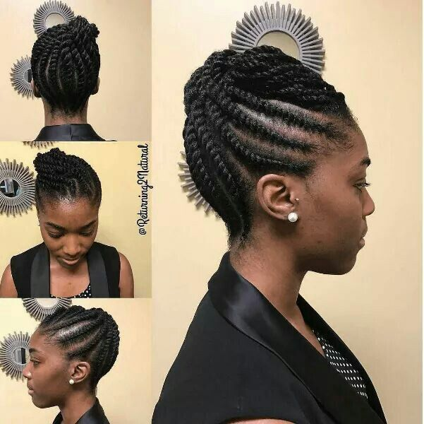 85 Hot Photo Look Good With The Flat Twist Hairstyles Natural Hair Twist Out Natural Hair Styles Natural Hair Twists