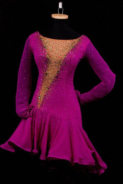 Rhythm/Latin Ballroom Dress by Chrisanne for Sale at Classic ...