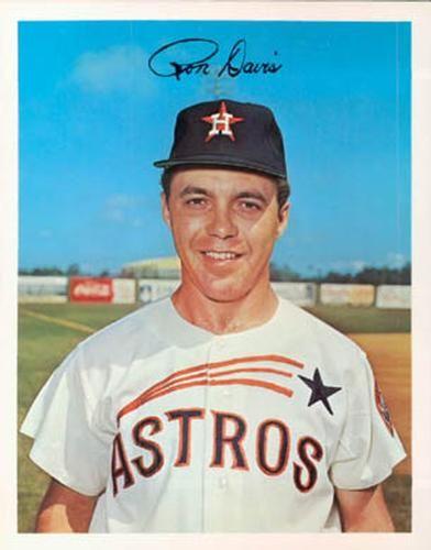 1967 Dexter Press Houston Astros 3 Ron Davis Front 1967 Baseball