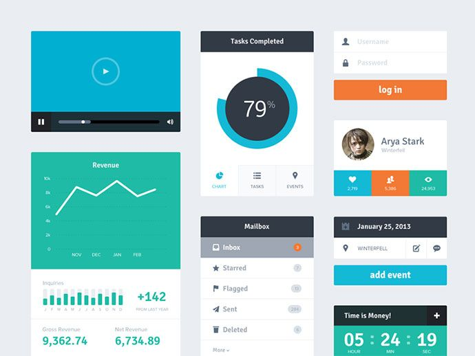 17 Best images about Flat UI Design on Pinterest   Ui design ...