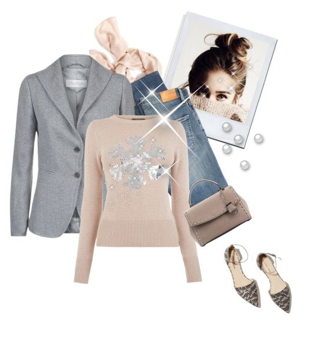 """""""street  style"""" by janemichaud-ipod ❤ liked on Polyvore featuring Old Navy, Citizens of Humanity, MaxMara and M. Gemi"""