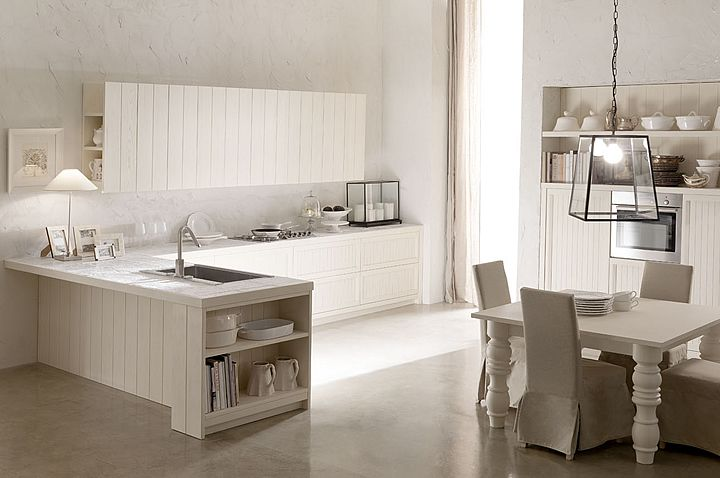 cucine country chic country living stile moderno cucine ... - Cucine Poggibonsi