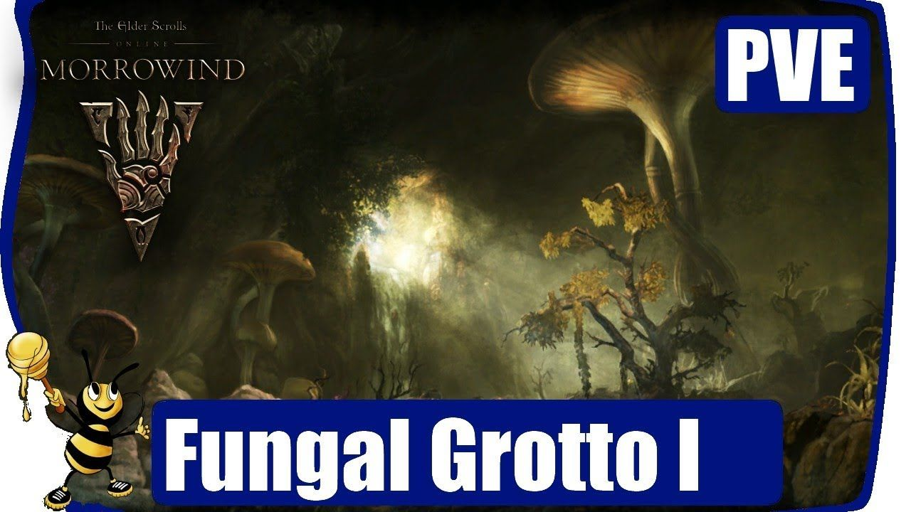 ESO MORROWIND Gameplay Walkthrough PVE: DUNGEON - Fungal
