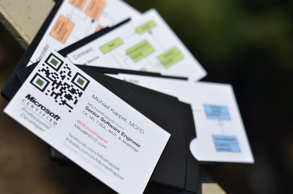 Software Architect Business Cards Photo By Michael Kappel | Moo ...