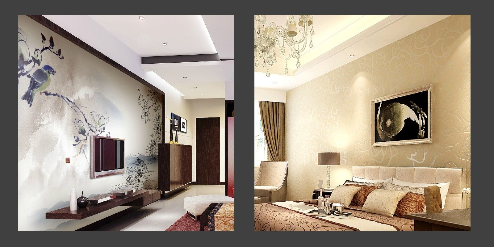 Exceptional Innovative Wallpapers Designs For Home Interiors Gallery 4366 ... | Wall  Art | Pinterest | Wallpaper, Interiors And Walls
