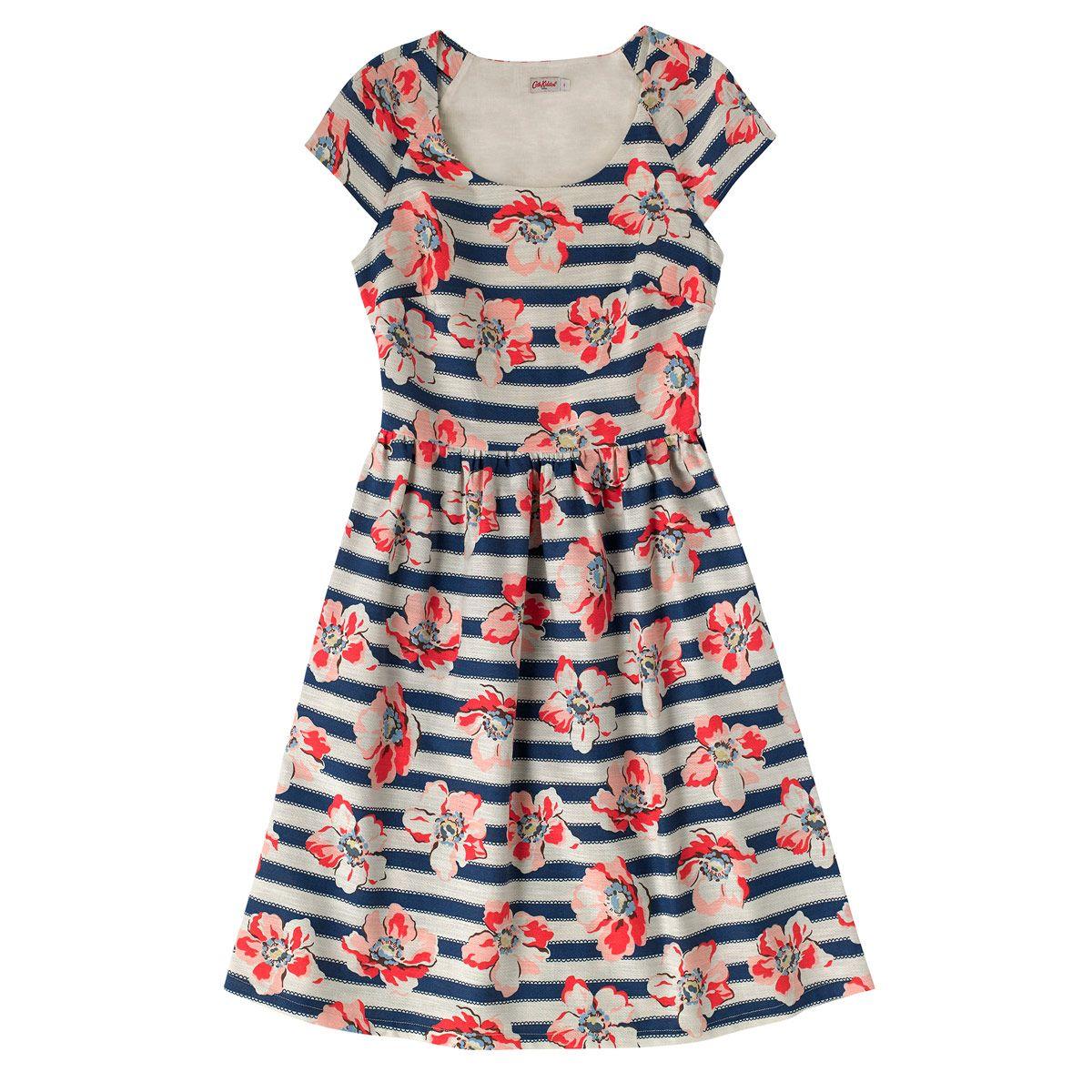 Large Anemone Stripe Dress | Dresses | CathKidston | Cath Kidston ...