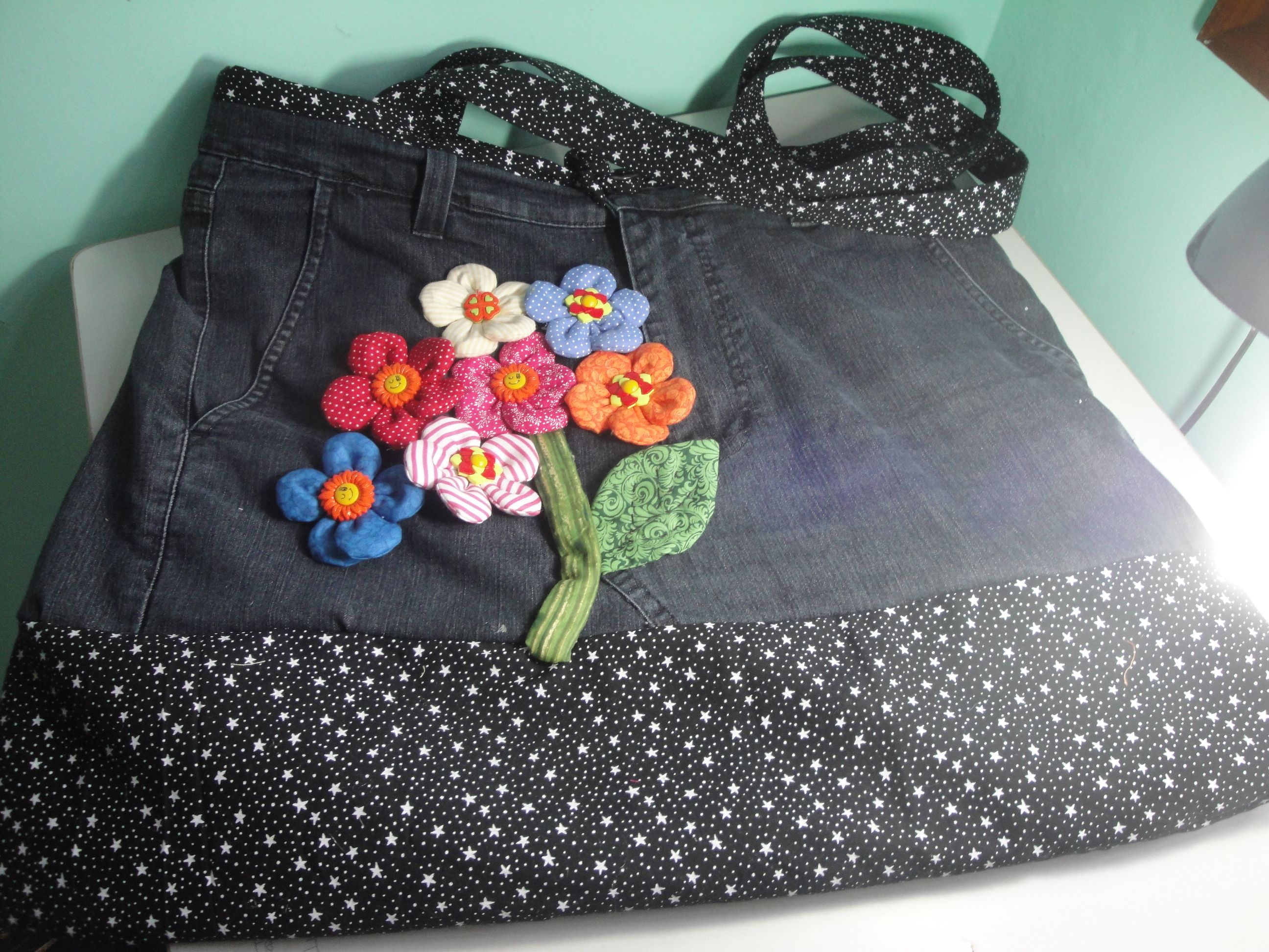 Bolsa calca Jeans