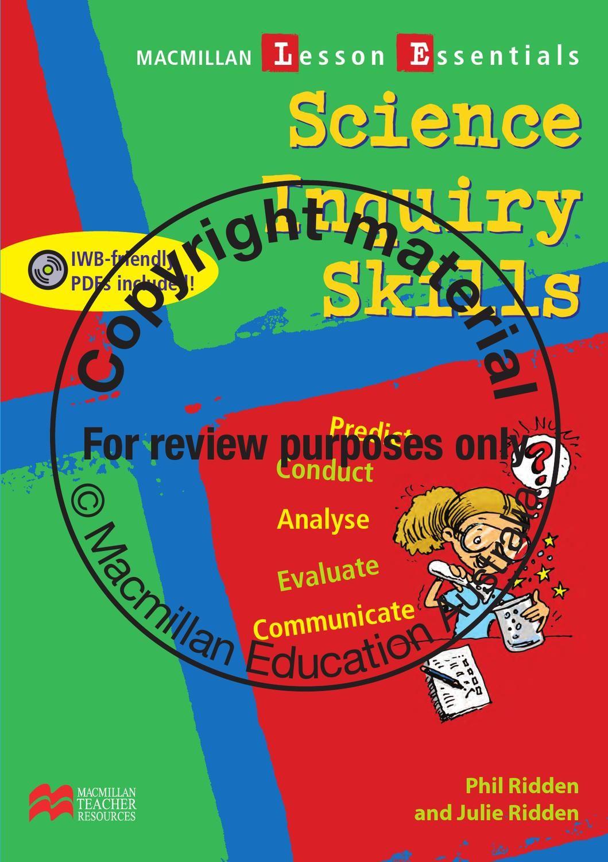 Macmillan Lesson Essentials Science Inquiry Skills