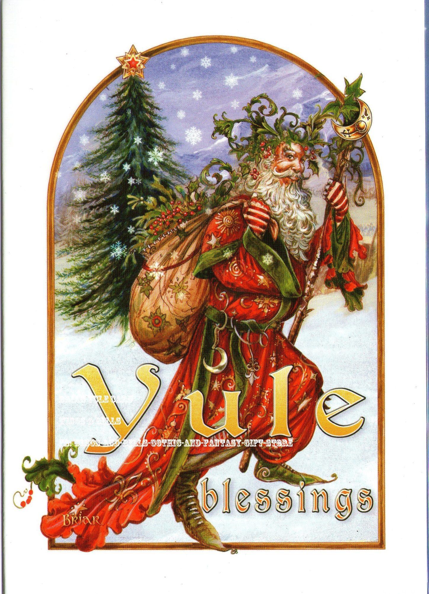 Briar - Yule Herne | Yule Cards | Pinterest | Yule, Christmas and ...