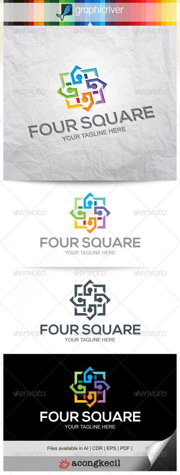 Fusion Square  #graphicriver
