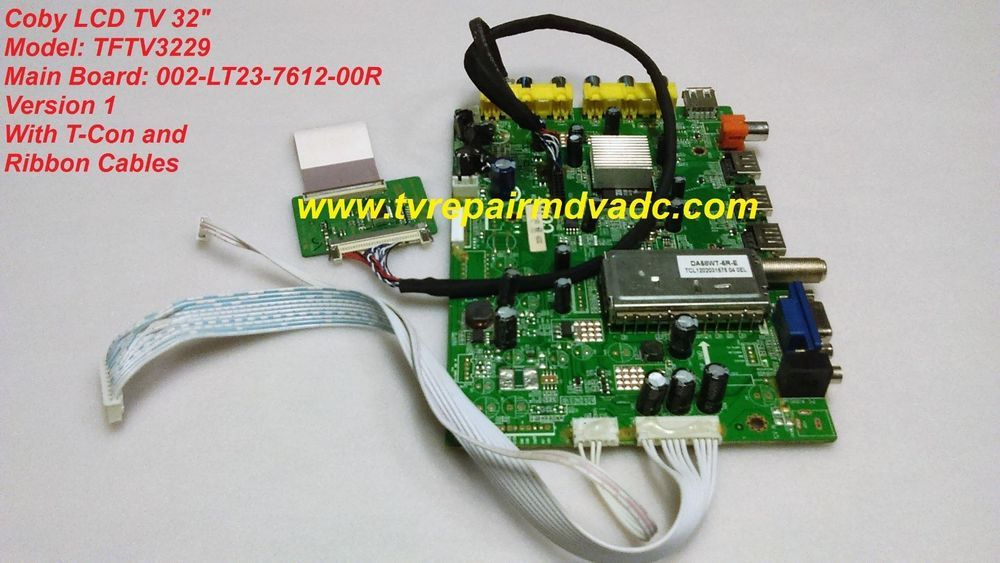 Details about Coby TFTV3925 002-LT23-7612-00R Main Board U3