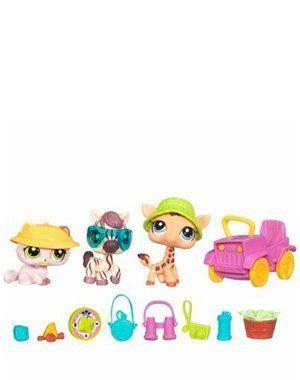 Littlest Pet Shop Themed Playpack Search N Safari By Hasbro
