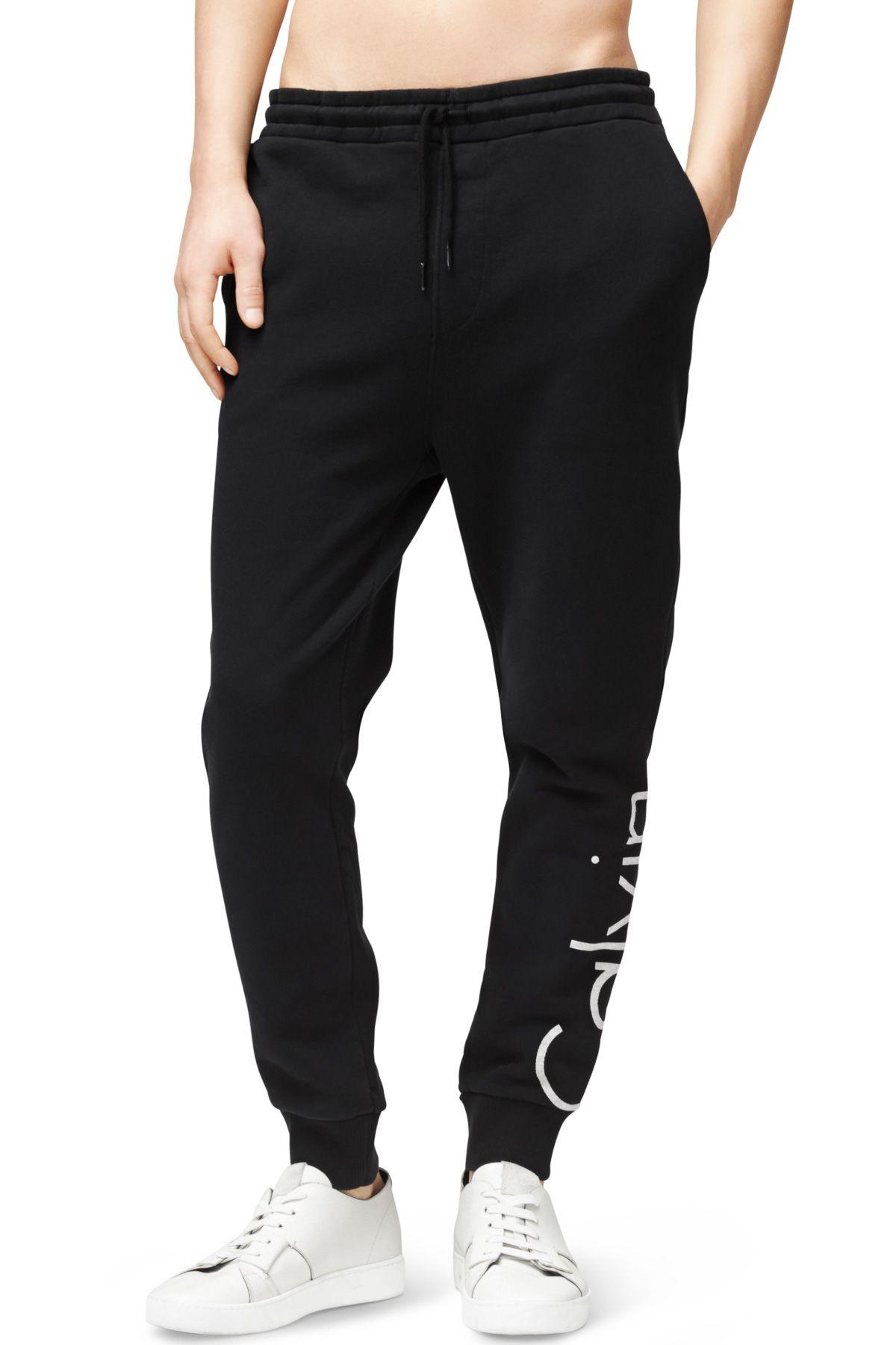 9091e27ff3efc Calvin Klein Jeans - Logo Sweatpants -   148