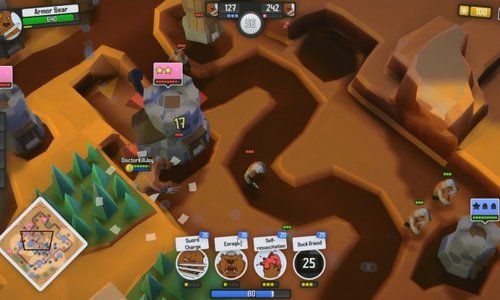 Dethroned is a Free to play MOBA Multiplayer online battle arena mixed with  Reat Time Strategy and some elements from Tower Defence genre