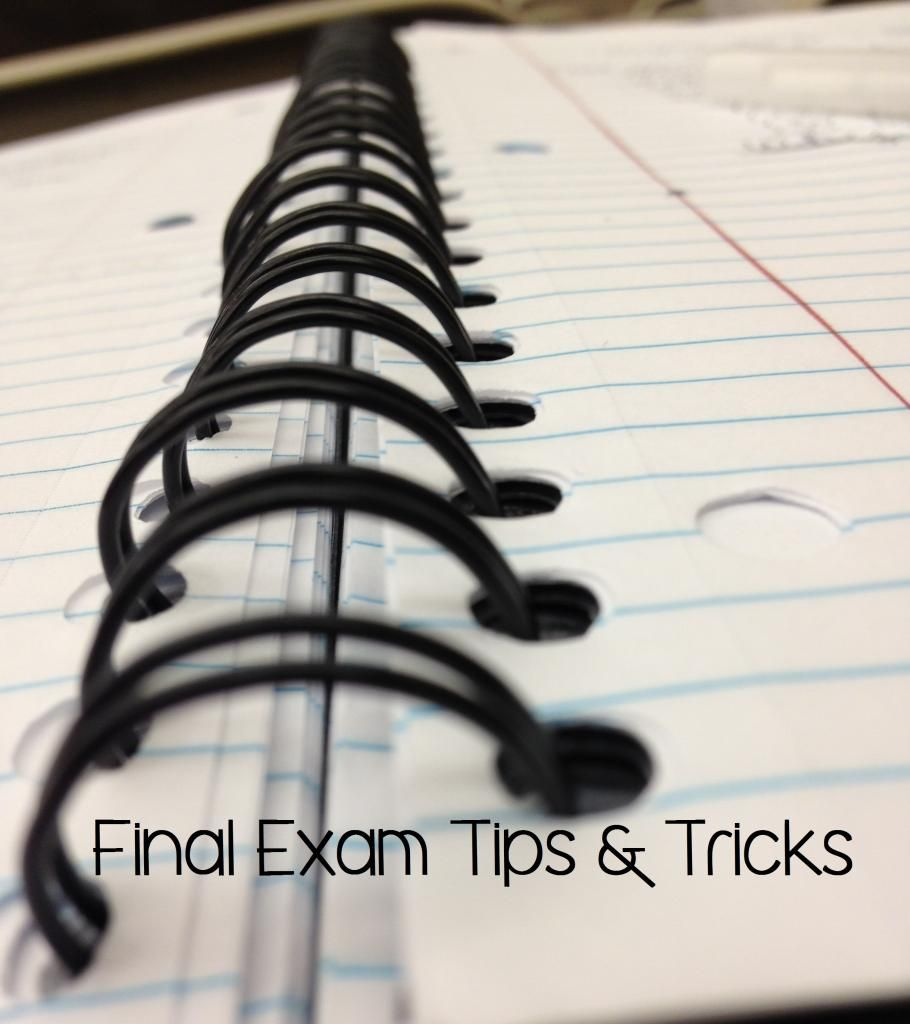 final exam tips Instantly improve your grade on the gen chem 2 standardized final exam by watching the bonus tips video the tips video will give you tips and suggestions that most students don't consider or know about.