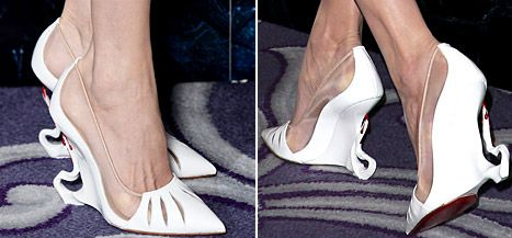 7e7d7ca79575 All the details on Angelina Jolie s Maleficent-inspired custom heels by  Christian Louboutin!