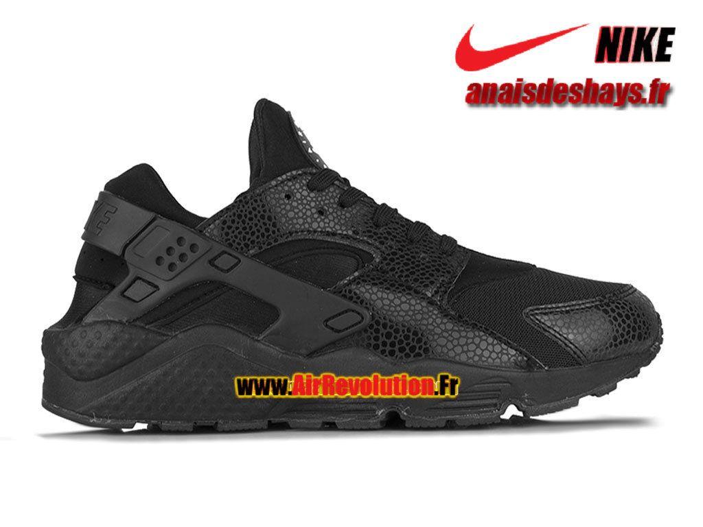 Boutique Officiel Nike Air Huarache Homme Toute Noir 318429 001