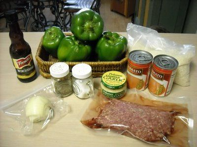 Mommy's Kitchen - Old Fashioned & Southern Style Cooking: Stuffed Bell Peppers {Old Fashioned Favorite}