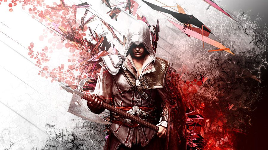 Assassin S Creed 2 Ezio Auditore By Thesyanart On Deviantart Assassin S Creed Wallpaper Assassin S Creed Hd Assassins Creed Ii