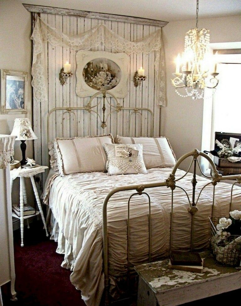 38 Best Bedroom Organization Ideas And Projects For 2019: 38+ Best Shabby Chic Bedroom Decoration Ideas