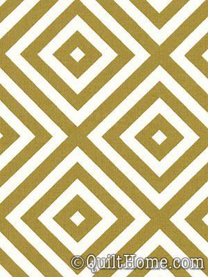 Poodle JP33-Mustard Fabric by Jennifer Paganelli