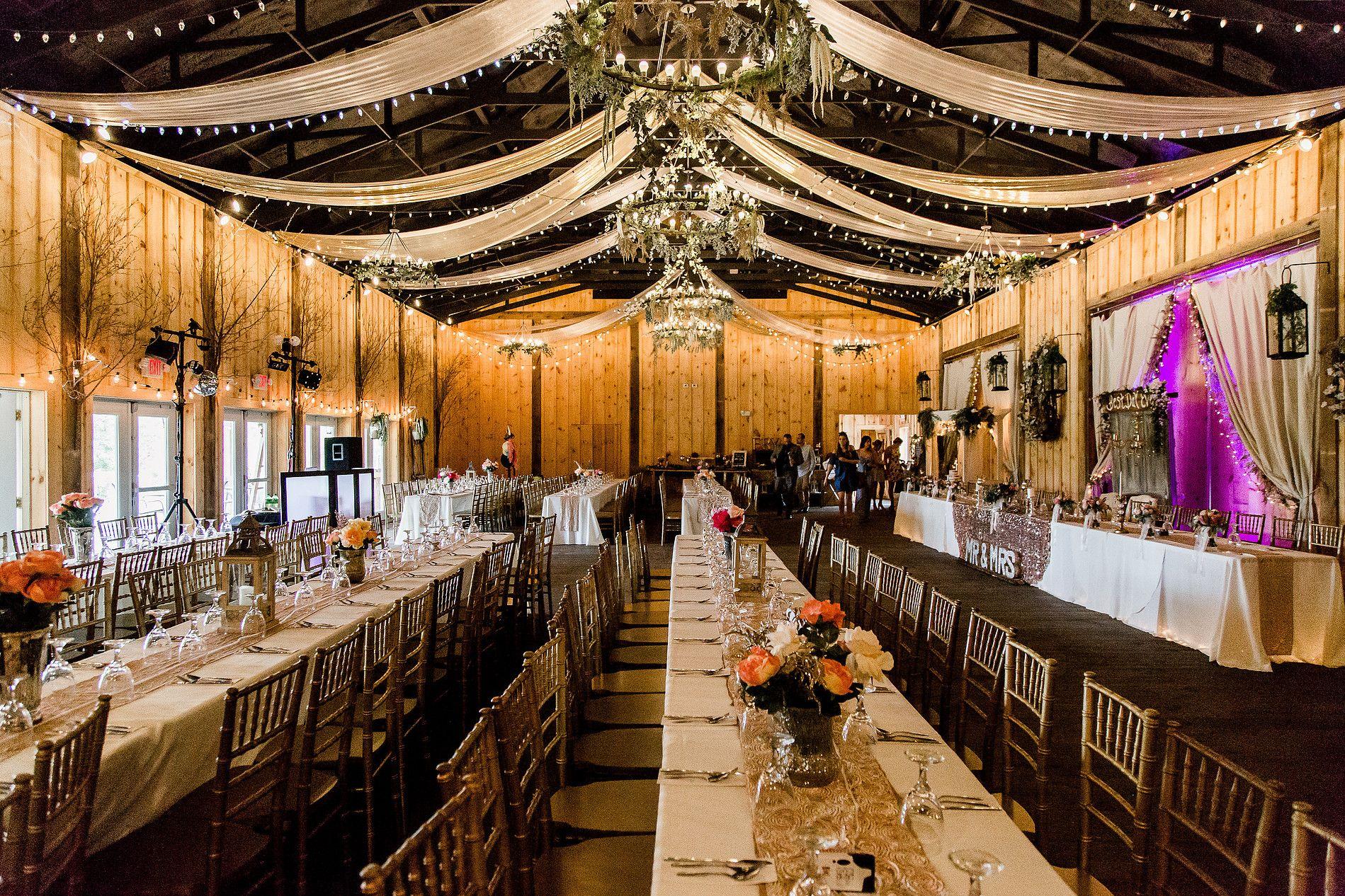 The Barn on Enchanted Acres   Rustic barn wedding, Rustic ...