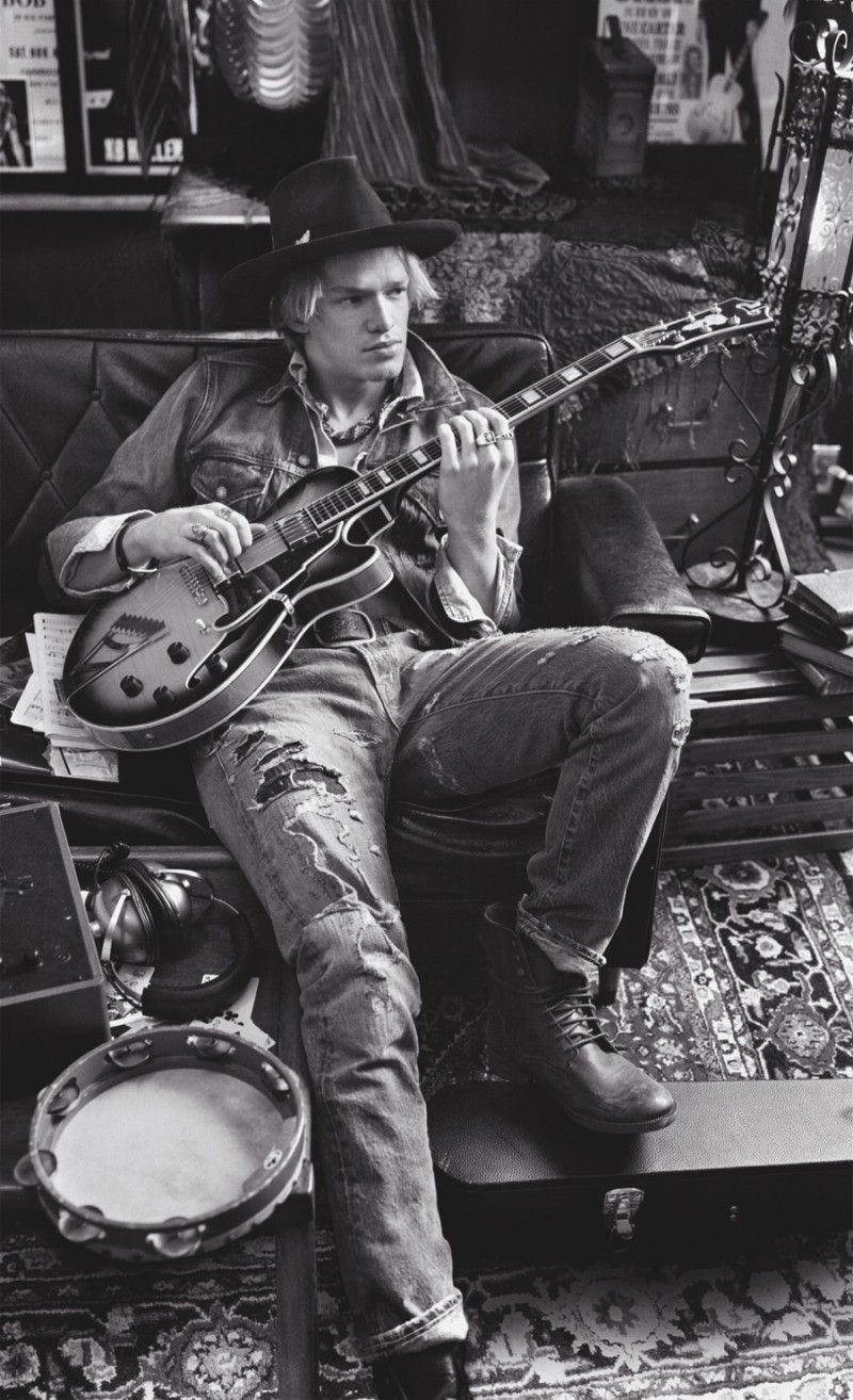 Cody Simpson Does Double Denim for Ralph Lauren Denim & Supply Fall/Winter 2015 Campaign