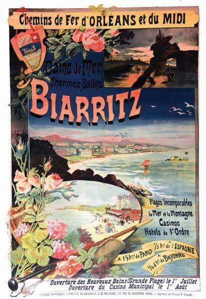 Biarritz Saison d'Hiver 1897-98