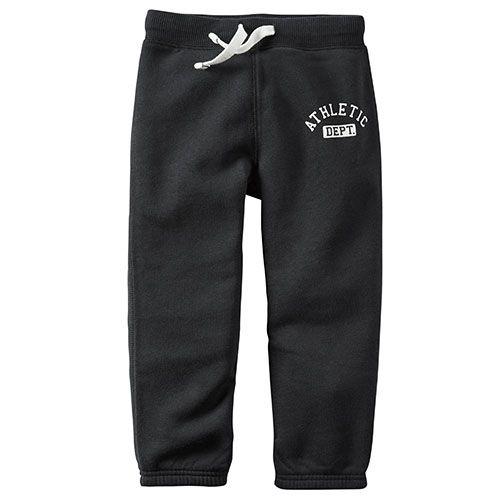 Toddler Boy Carter's® Athletic Dept Black Pants