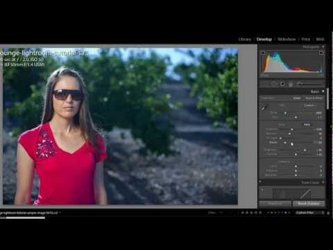 Color correcting in lightroom