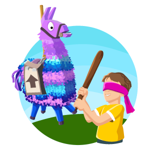 Fortnite Llama Have Fun At The Birthday Party Birthday Party Stickers Fun Have Fun