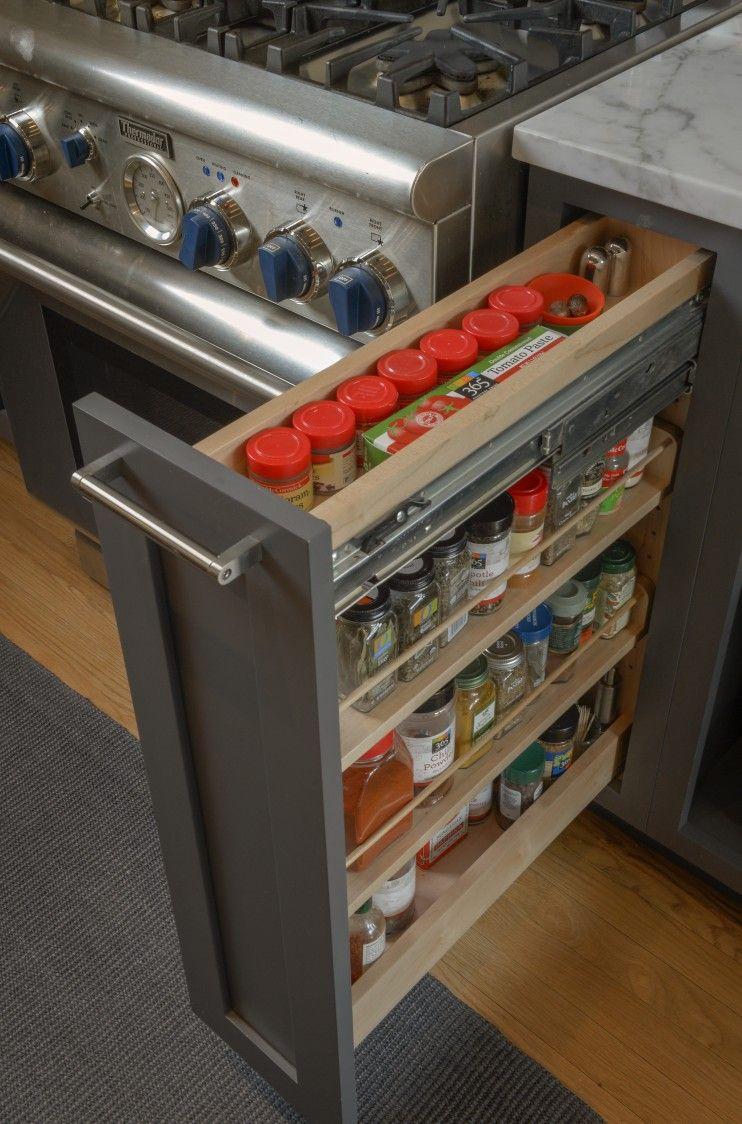 Stainless Steel Appliances Are Holding Firm And More 2016 Kitchen Trends Armarios De Temperos Cozinhas Modernas Cozinhas