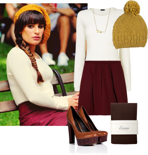 """Rachel Berry inspired Fall Outfit"" by natihasi on Polyvore"