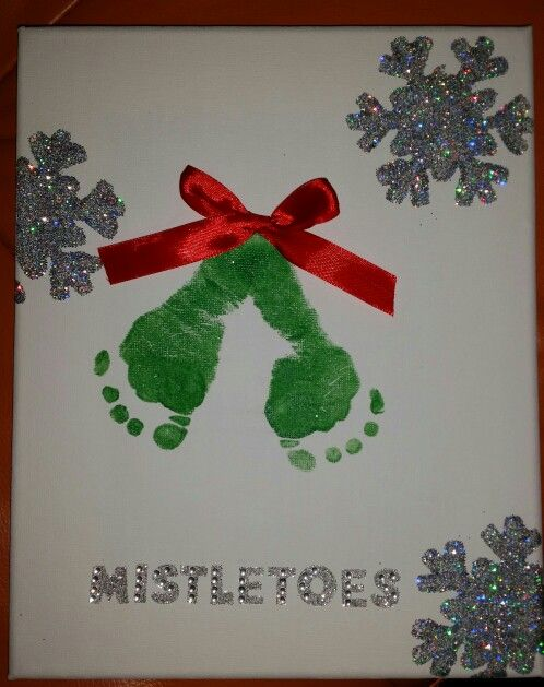 Mistletoes! Had to make this for my daughters first christmas. So cute. Love it.