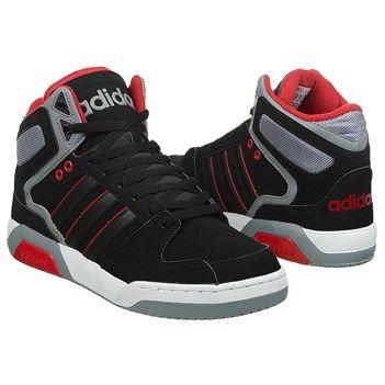 adidas+Neo+Raleigh+BB9TIS+High+Top+Sneaker+Black/