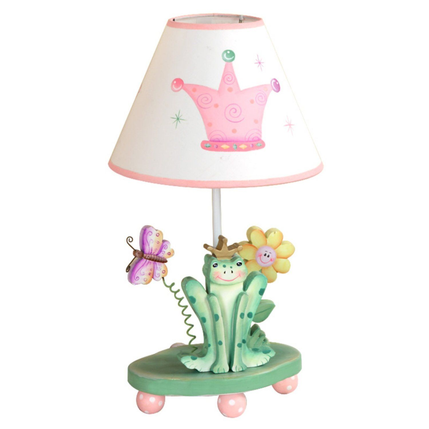 Safari Kids Lamps | Crown Table Lamp Princess Frog Collection For Kids Photo
