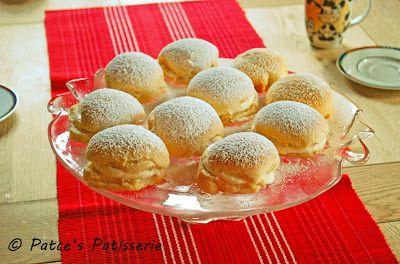 Patce's Patisserie: Krapfen oder auch Berliner Pfannkuchen mit Apfelschnee