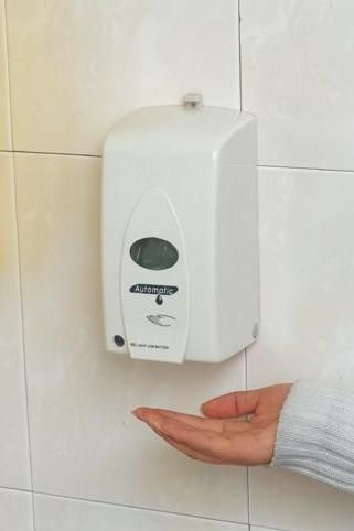 Automatic Soap Dispenser And Manual Hand Sanitizer Dispenser Via