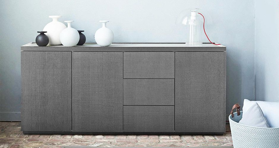 estampe sideboard by ligne roset modern sideboards tv units los angeles beach house. Black Bedroom Furniture Sets. Home Design Ideas