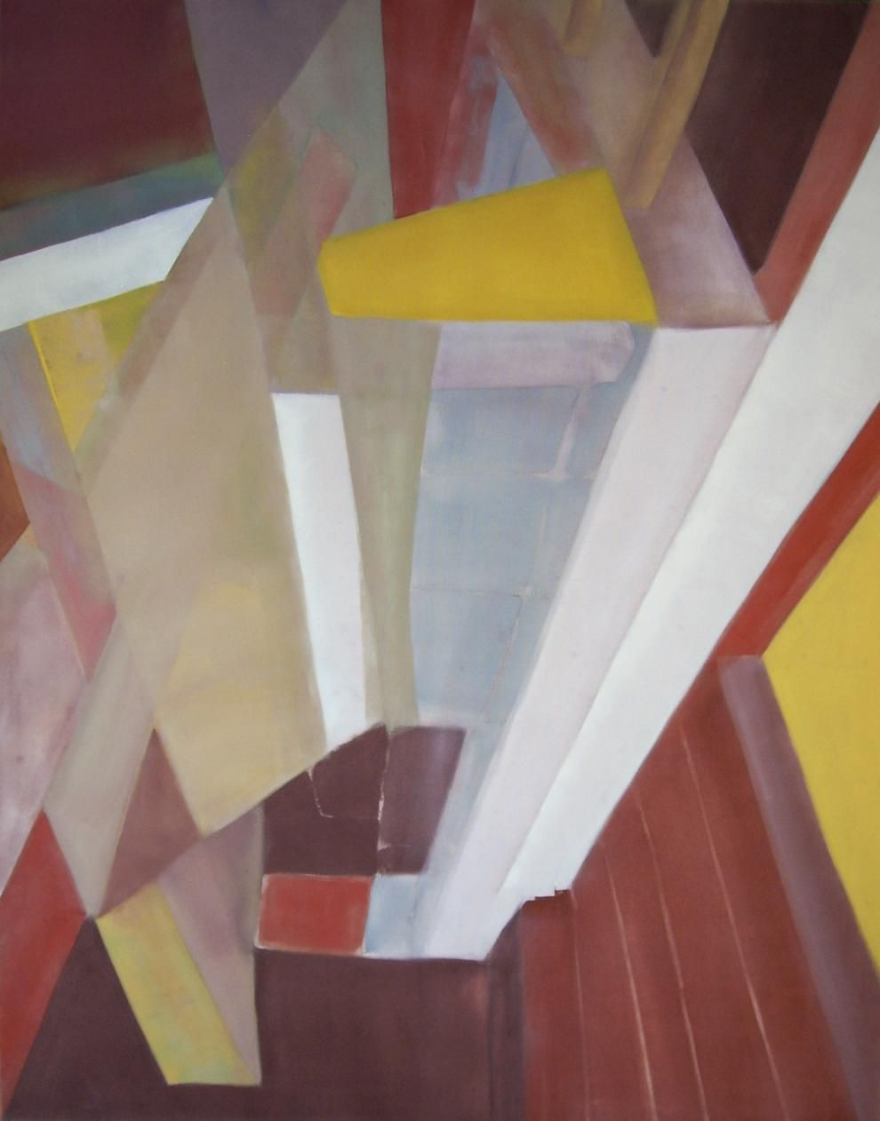 'Wooden Floor' / Oil on canvas / 31.50 in x 39.40 in / May 14, 2012