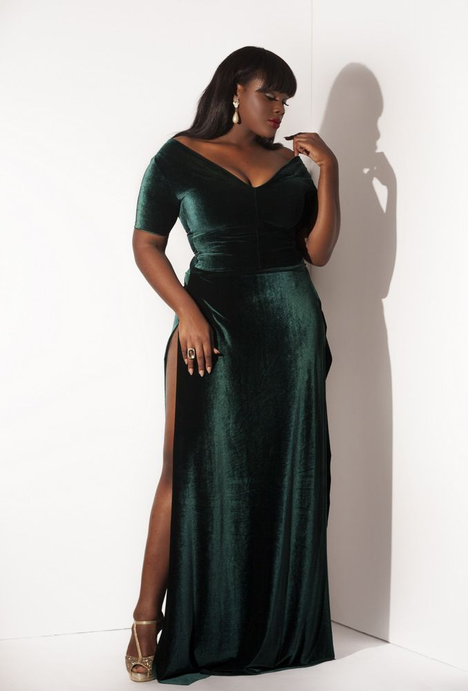 5 Ways To Wear A Plus Size Velvet Dress For The New Years Eve