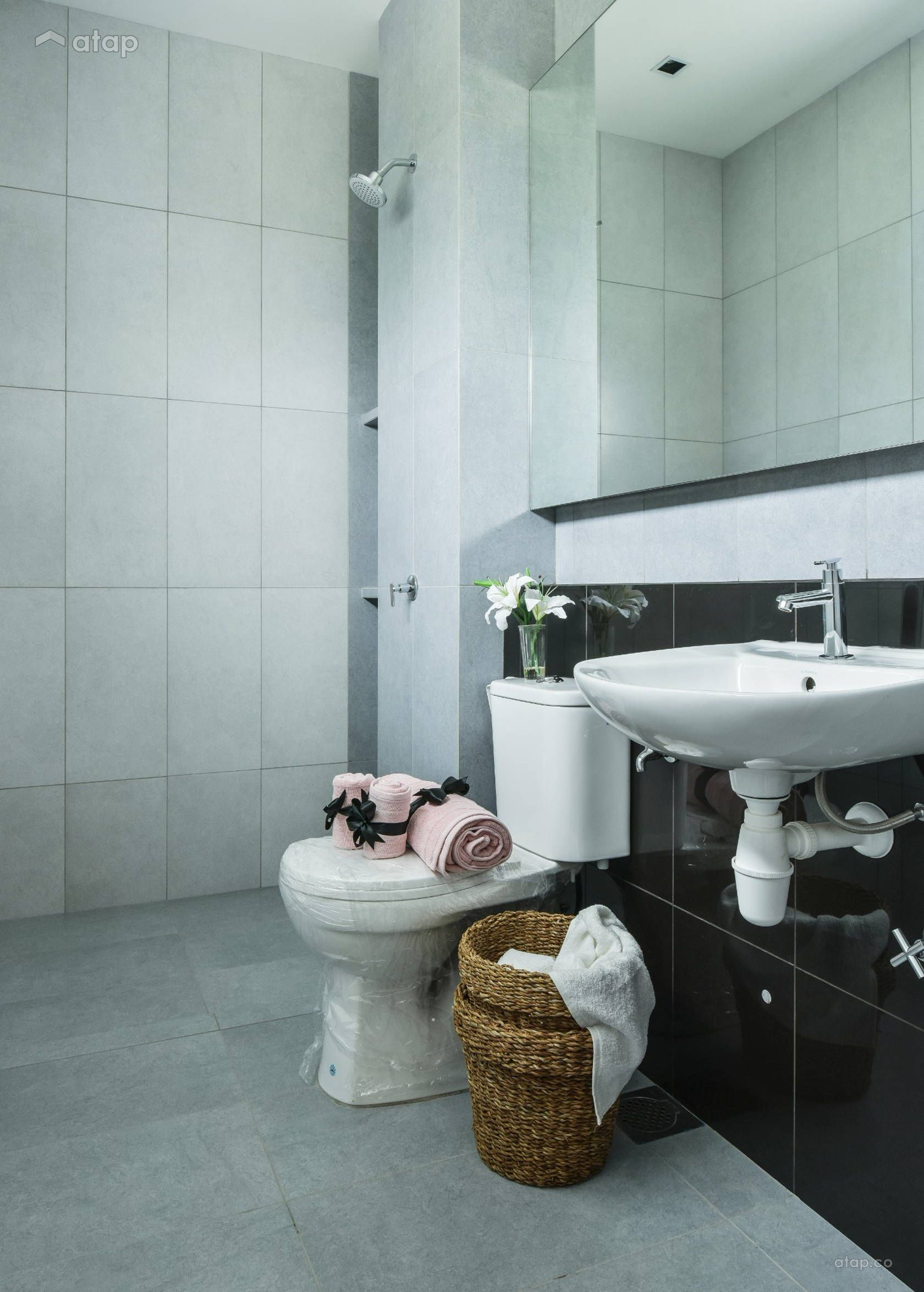 Classic Contemporary Bathroom Terrace Design Ideas Photos Malaysia Atap Co Contemporary Bathroom Contemporary Toilets Terrace Design