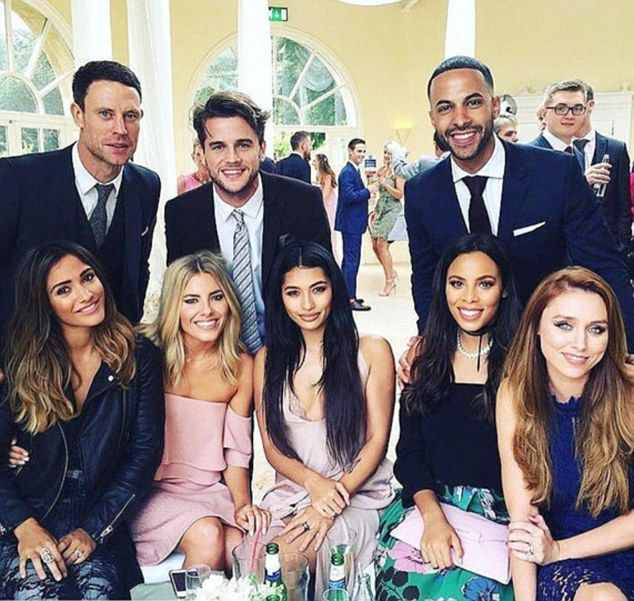 Loving life:Revelling in their reunion, the girls took to their respective Instagram accounts to chronicle their day of fun as they watched a member of their management team tie the knot